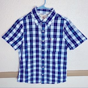 Hollister button down Like New